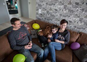 perhe viihtyy Kyterissä