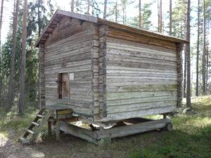 granary Laurinmäki Croftyer's museum