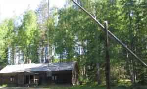 Shadoof Laurinmäki Crofter's museum