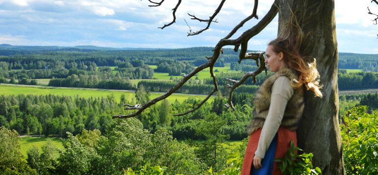 View from Hakoinen Castle hill, Janakkala. Photo by Johanna Valkama
