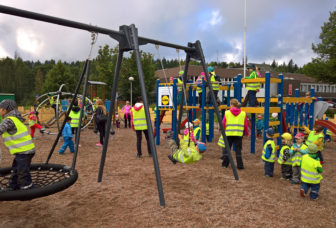 Turengin kävelykadulle rakennettiin leikkipuisto kuntalaisilta ja yrittäjiltä kerätyin lahjoitusvaroin, avajaisia vietettiin 19.8.2016.