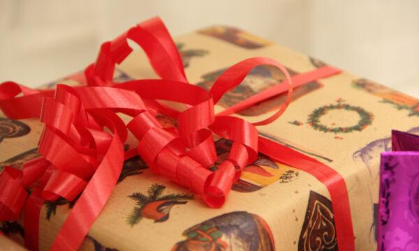 Joululahjapaketti.