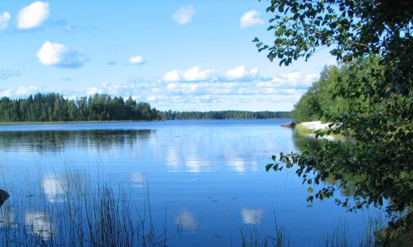 Isojärven uimapaikalta.