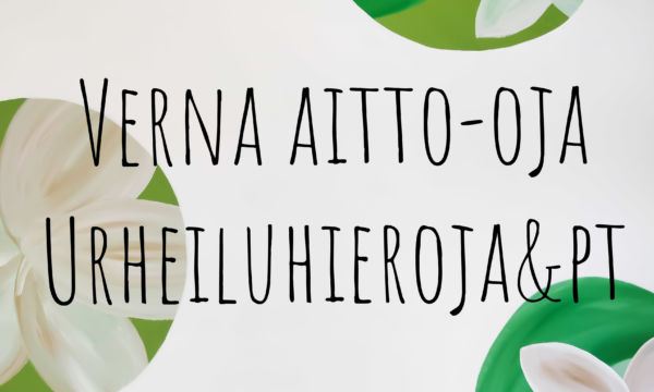 Verna Aitto-oja urheiluhieroja & PT.