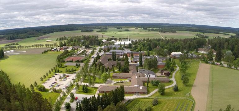Kiipulan koulutus- ja kuntotuskeskuksen alue.